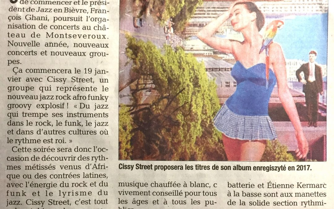 – Annonce Cissy Street Dauphiné Libéré